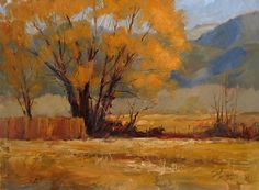 Big Old Willow by Peggy Immel Oil ~ 12 x 16