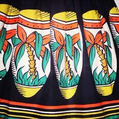 1950s novelty skirt