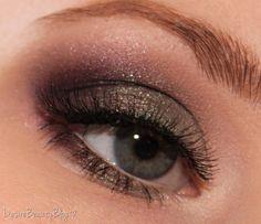 Burgundy & Green Eyes