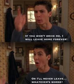 """You give ultimatums.   35 Signs You're Reese From """"Malcolm In The Middle"""""""