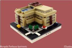 Micropolis Penthouse Apartments | ReBrick | From LEGO Fan To LEGO Fan