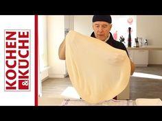 Gezogener Strudelteig selber machen   Kochen und Küche Cupcakes, Dessert, Youtube, Recipes, Pies, Cakes, Diy, Cooking Recipes, Dessert Food