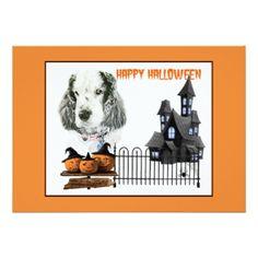 English Cocker Spaniel Card - invitations custom unique diy personalize occasions