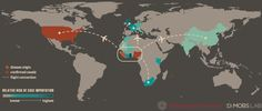 Map: Where Ebola is likely to go next