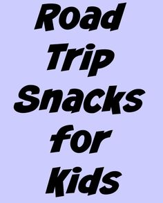 Road Trip Snacks for Kids- Perfect for travel - The Spring Mount 6 Pack