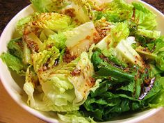 Korean-Style Romaine Salad