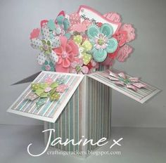 Image result for pop up box card tutorial