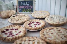wedding pie | Wedding Pies! | A wedding ideas
