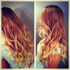 My hair! Ombré
