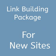 The best link building package for new sites. I love it!