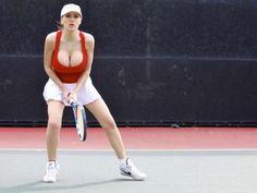 jordan carver playing tennis 12 Jordan Carver is a natural at tennis, I think (16 Photos)