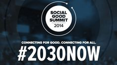 Social Good Summit is back and leaders across the world are discussing how to build a better future. Here's how you can join the conversation online.