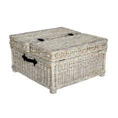 abbeville white square coffee table by crafted home