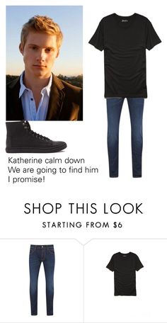 """""""Nick Grace"""" by trislessa ❤ liked on Polyvore featuring Replay, Forever 21 and 21 Men"""