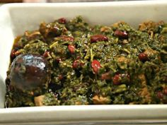 Ghormeh Sabzi Stew (Khoresht) Persian Iranian Food Recipe Video by Aashpazi | ifood.tv...Talk about superfood! this dish is full of greens, and is beyond delicious! A regular on our table!