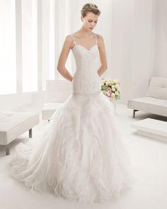 8B181 POMELO   Wedding Dresses   2015 Collection   Alma Novia