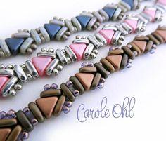 Usonia Bracelet Tutorial by Carole Ohl por openseed en Etsy
