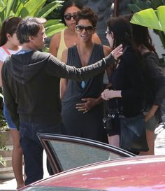 Halle Berry - Halle Berry and Olivier Martinez Grab Lunch