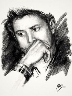 Beautiful Jensen fan art.