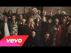 Band Aid 30 - Do They Know It's Christmas? (2014) Buy the song. Stop the virus. Simple :)