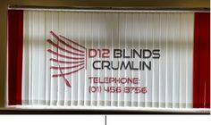 Now you can promote your business by displaying your company name on your blinds
