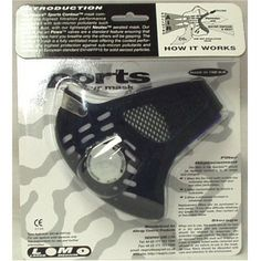Respro Sportsta Contour Face Mask by Respro. $38.00. High-tech, stylish, and comfortable pollution masks.