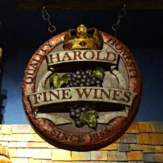Fox and Hound Pub Sign - Artist - Dan Sawatzky at Imagination Corporation Carved Wood Signs, Wooden Signs, Pub Signs, The Fox And The Hound, Signage Design, Store Signs, Fine Wine, Hanging Signs, Carving