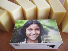 This soap is 100% natural made with organic oils. No paraffins, chemicals or artificial ingredients. Comes in 8 varieties: lavender, lemongrass, cinnamon spice, eucalyptus, orange, spearmint, or unscented-- The best part is: for every soap purchased, a bar is donated to someone in need. Beauty Care, Beauty Skin, Beauty Hacks, Beauty Tips, Diy Beauty Soap, Lavender Soap, Cosmetology, People Around The World, Skin Makeup