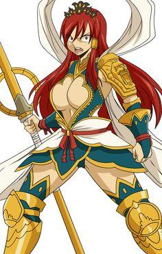 fairy tail erza armor of nakagami