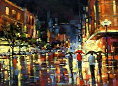 Michael Flohr - Staccato Rain - My favorite Michael Flohr work. Reminds me of Seattle.