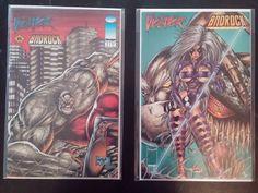 Violator vs. Badrock Lot of 2 comics: #1 & #2 (1995, Image)