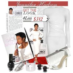"""""""GET The LOOK for Less: Jennifer Hudson $312"""" by enjoyzworld on Polyvore"""