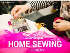 starting a home sewing business