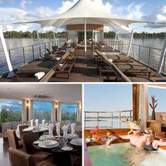 Cruceros de lujo por el Amazonas