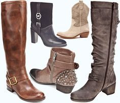 Boot Season: I have 6 pairs and looking at this I need atlease 2 more. Love the suede.