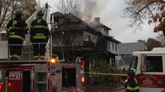 Fire swept through an apartment house near the University of Southern Maine's quiet commuter campus Saturday, killing five people and critically injuring one, authorities said. It was unclear if any of the victims were students. The fire, which gutted the two-story, 90-year-old structure,...