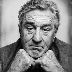 Robert De Niro: Time goes on. D… Robert De Niro: Time goes on. Celebrity Photography, Celebrity Portraits, Portrait Photography, Cinema Tv, Black And White Portraits, Interesting Faces, Male Face, Cannes Film Festival, Famous Faces