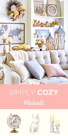 Give Fall A Warm Welcome With Soft Accents Comfy Pillows Throws Glowing Candles And Stylish