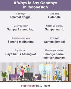 Bye Bye, Danish Language, German Language Learning, Foreign Language, Learning English, Indonesian Language, Turkish Language, Goodbye In Dutch, Northern Lights Cruise