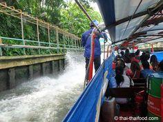 Bootsfahrt auf einem Wasserkanal in Bangkok Bangkok, Thai Recipes, Fair Grounds, Fun, Travel, Water, Viajes, Trips, Traveling