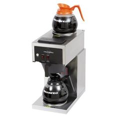 Bloomfield Koffee King 2 Warmer In-Line Automatic Coffee Brewer - (Canadian Use Only) Best Drip Coffee Maker, Coffee And Espresso Maker, French Press Coffee Maker, Pour Over Coffee, Coffee Brewer, Hot Coffee, Coffee Shop, Steel Water Tanks, Juice Extractor
