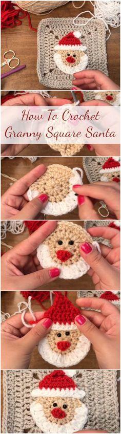 Transcendent Crochet a Solid Granny Square Ideas. Inconceivable Crochet a Solid Granny Square Ideas. Crochet Stitches Free, Crochet Squares, Knitting Patterns Free, Crochet Patterns, Granny Squares, Crochet Granny, Free Pattern, Knitting Hats, Knitting Stitches