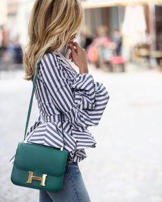Hermès & flared stripes