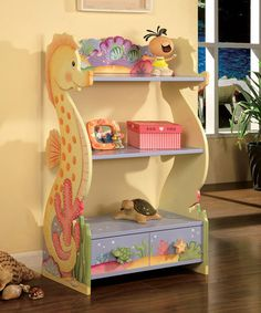 Another great find on #zulily! Under the Sea Bookshelf #zulilyfinds