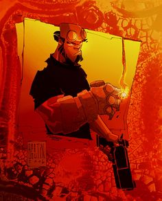 HellBOY Color por ME by ~marespro13