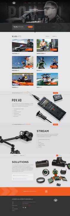Unique Web Design, V.I.O. #WebDesign #Design (http://www.pinterest.com/aldenchong/)