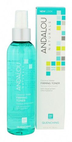 Save on Coconut Water Firming Facial Toner by Andalou Naturals and other Toners and Non-GMO remedies at Lucky Vitamin. Shop online for Personal Care & Beauty, Andalou Naturals items, health and wellness products at discount prices. Best Nutrition Food, Nutrition Plans, Health And Nutrition, Proper Nutrition, Health Care, Science Cells, Water Facts, What Is Healthy, Natural Toner
