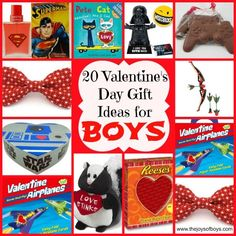 Valentine's Day Gifts for Boys!