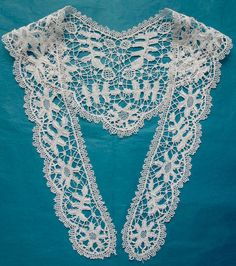 Antique/vintage Bedfordshire lace collar in Antiques, Fabric/ Textiles, Embroidery | eBay