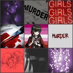 Lesbian, fairy lights, and murder aesthetic for Maki! Mikan Tsumiki, Fairy Lights, Cool Girl, Wallpaper, Girls, Image, Names, Toddler Girls